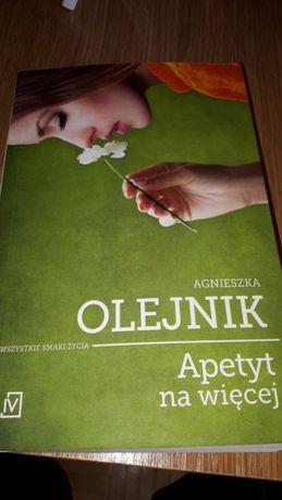 """Agnieszka Olejnik """"Apetyt na wiecej """""""