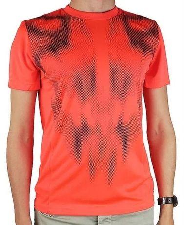Adidas M ClimaLite F50 koszulka T-shirt neon pomarańcz