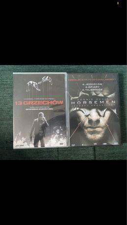 Zestaw filmow horror thriller 13 grzechow i Horsemen jezdzcy apokalips