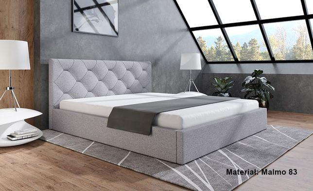 Łóżko tapicerowane z podnoszonym stelażem 120/140/160/180x200 - BORYS