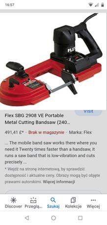 Piła taśmowa Flex SB 2908 VEA bi metal