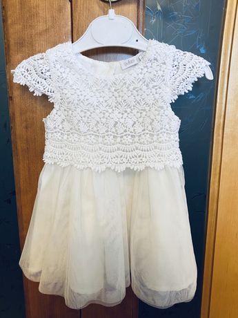 Платье на крестины 68 см (6-9 месяцев). Сукня на хрестини