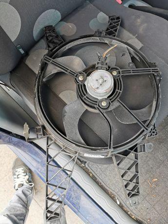 Wentylator chłodnicy Renault modus 04-08r silnik 1.2 benzyna 16v