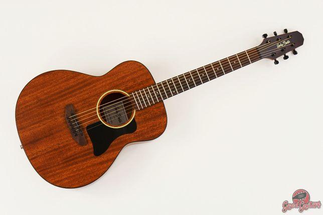 Gitara AKustyczna Harley Benton GS-Travel Mahogany świetne Brzmienie