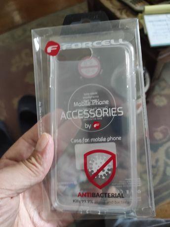 Capa antibacterial iPhone 7 plus/8 plus nova nunca tirada da embalagem