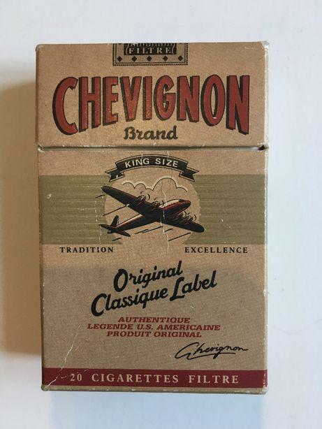 Maço de tabaco Chevignon vintage