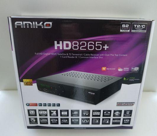 "Receptor Combo - Amiko 8265+ HD (Satélite/Cabo & IPTV) ""Portes Grátis"""
