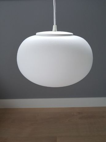 Lampa biała owalna SOTTO LUCE