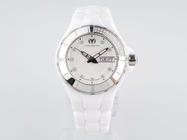 Женские новые часы Technomarine Cruise White Diamonds 36мм