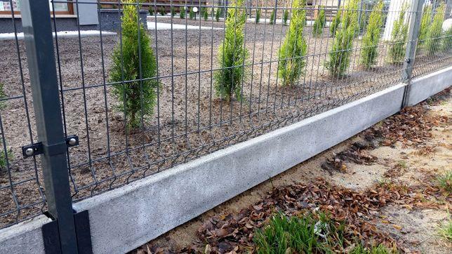 Ogrodzenia Panele ogrodzeniowe OC+RAL 1530mm kpl z podmurówką Komplet