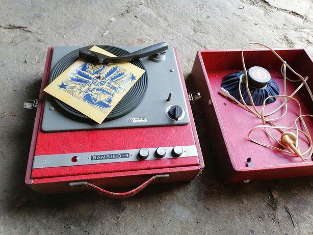 Gramofon bambino kompletny