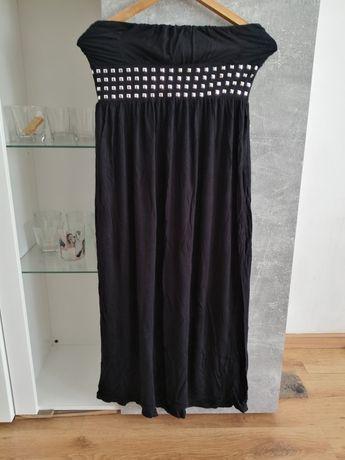Sukienka czarna na S lub spódnica maxi na M