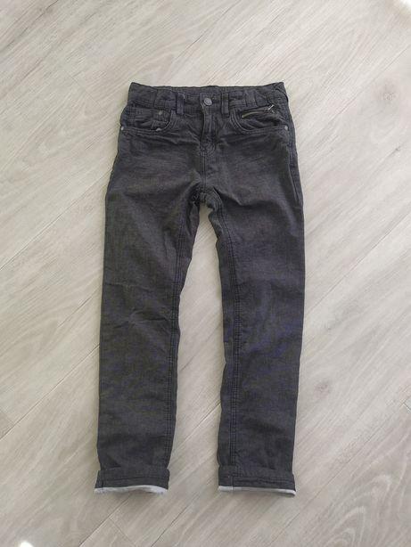 Spodnie termiczne na podszewce dla chłopca r.134 jak nowe