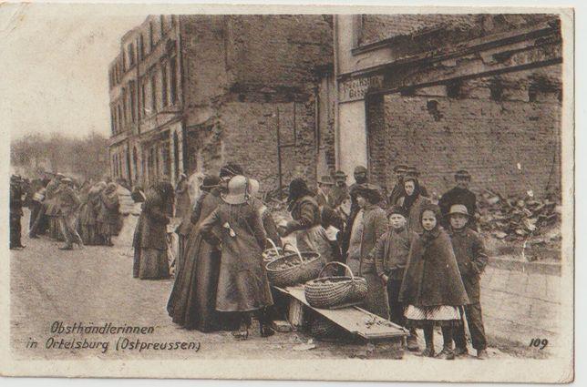 Stare zdjęcia Szczytno Ortelsburg I Wojna Światowa