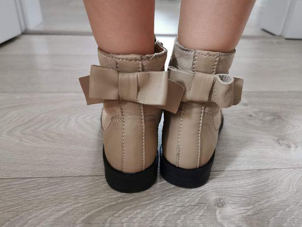 Francuskie buty jesienne zimowe dziewczęce rozm. 28 NOWE