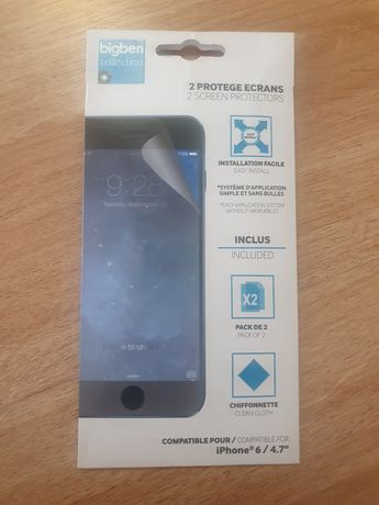 Pelicula de protecção plástico para iphone 6