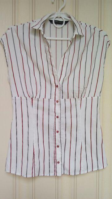 Практичная и качественная рубашка Zara 36р.
