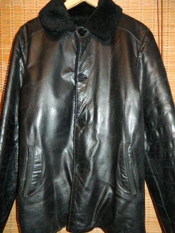 Зимняя мужская куртка Uomo, мех мутон. Производство Турция