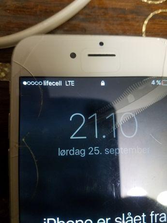 iPhone 6/64gb  на запчасти или восстановление