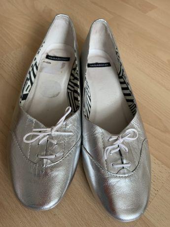 Туфли балетки лоферы vagabond