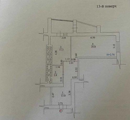 Продам 1комнатную идеальную для жизни в городе квартиру Плехановская18