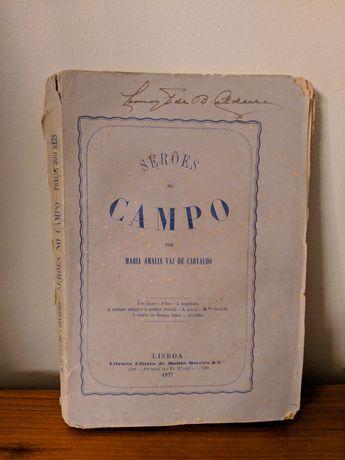 """BAIXA DE PREÇO Livro """"Serões no Campo"""" de Maria Amália Vaz de Carvalho"""