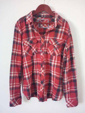 Camisa Vermelha padrão xadrez