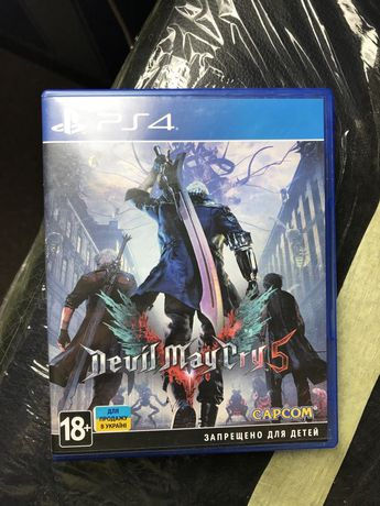 Devil May Cry 5 ps4 игра