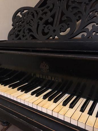 Рояль кабинетный F. Mühlbach