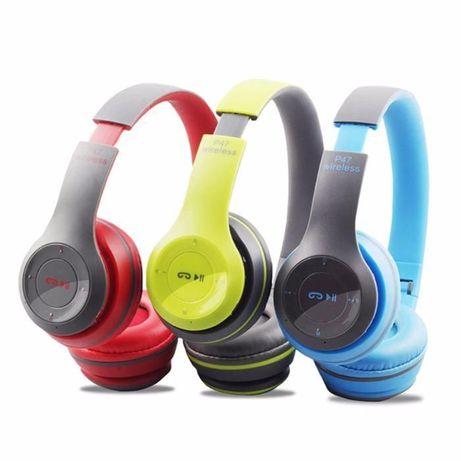 Новинка! Безпровідні Bluetooth навушники + FM;microSD;3.5mm
