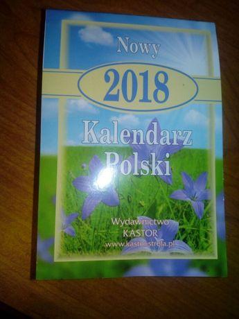 Kartki z kalendarza 2018 rok do metryczki