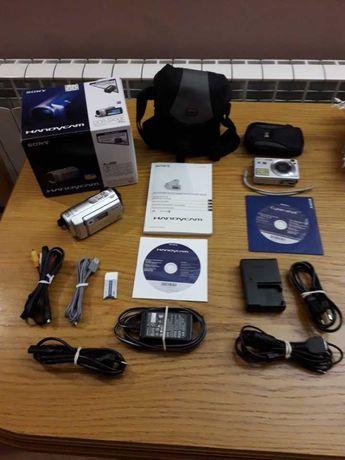 Kamera cyfrowa SONY DCR-SX30E + Gratis Aparat cyfrowy SONY DSC-W120