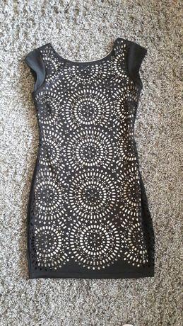 Sukienka Amisu roz 36 Ażurowa