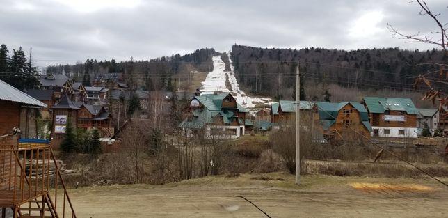 Участок на горнолыжном курорте