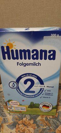 Смесь хумана  humana от 6-12 мес.