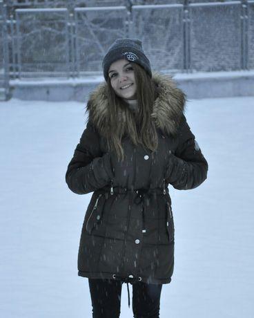 Парка куртка пальто на зиму