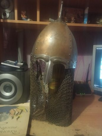 рыцарский шлем для любителей