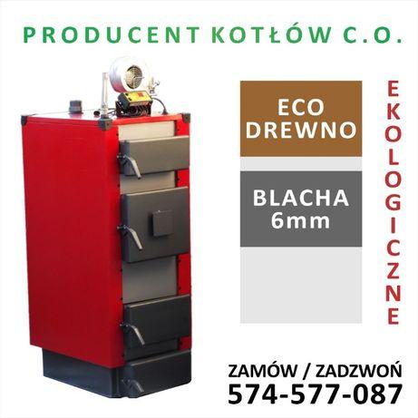 Kocioł piec drewno ekologiczny 12 kW do 100 m2 Wysyłka Gratis