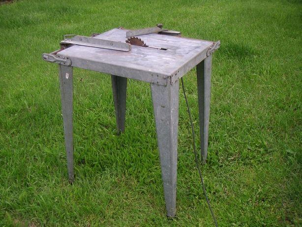 Stół do piły tarczowej duży z prowadnicami