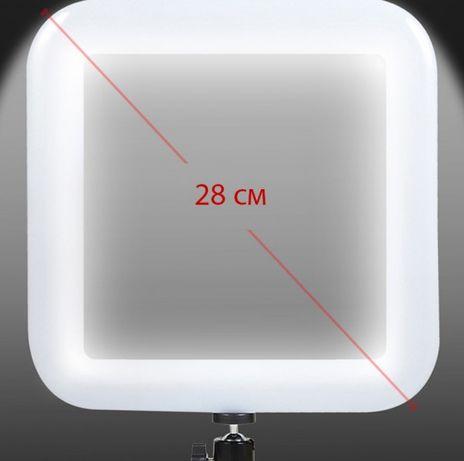 Квадратная Led Лампа 28см D35 хорошая