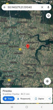 Działka budowlana Pokrzywnica 1200m2,woj.świętokrzyskie Zamiana