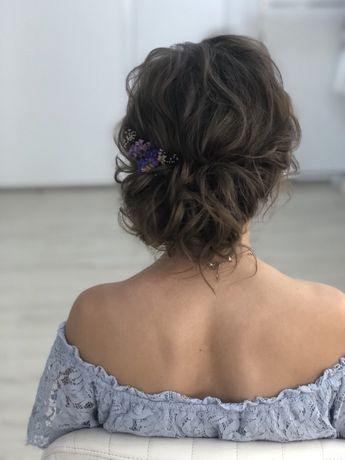 Прически плетение кос локоны (выпускные , свадебные, праздничные)