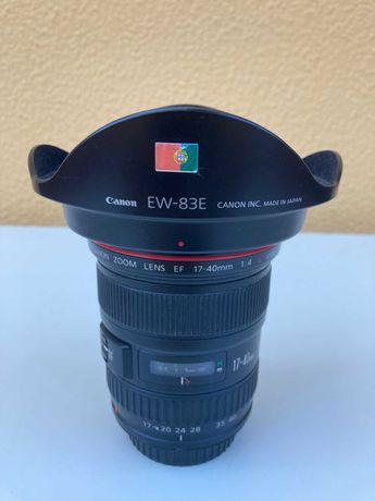 Lente Canon 17-40mm f/4 L