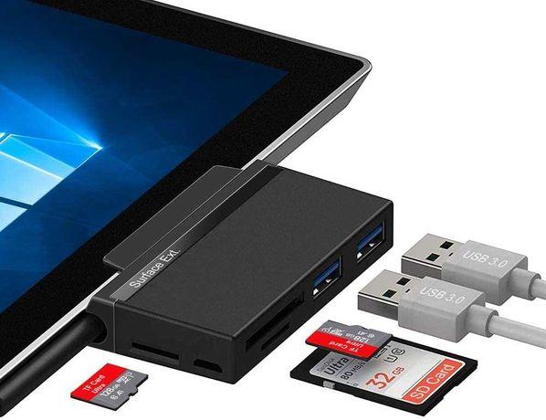 Адаптер для Microsoft Surface Go Type-C hub док-станция картридер