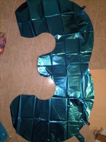 Balão número 3 e 4