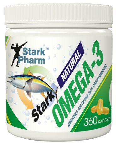Stark Natural Omega-3 Stark Pharm 360 на 4 месяца омега натуральная