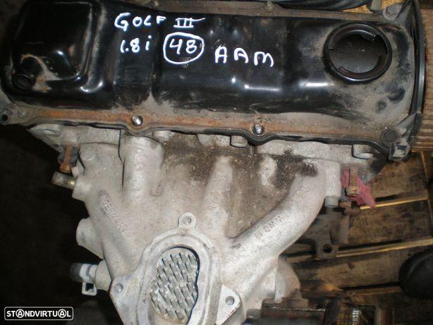 Motor gasolina AAM VW / GOLF 3 / 1992 / 1,8 / 75 /