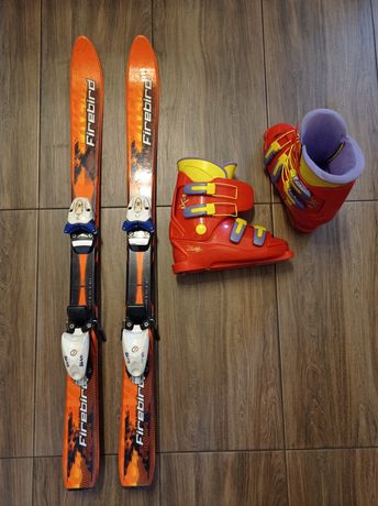 Narty 110 i buty narciarskie 37