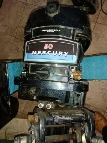 Silnik zaburtowy części Mercury 50 km