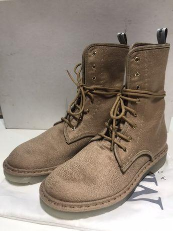 Культовые ботинки Maxmara, оригинал, размер 37, кашемир